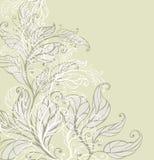 kwiecisty tło rocznik ilustracja wektor