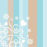 kwiecisty tło ornament Zdjęcie Royalty Free