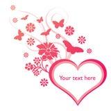 kwiecisty tła valentine Obraz Royalty Free