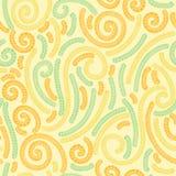 Kwiecisty tekstylny tapetowy bezszwowy wzór ilustracja wektor