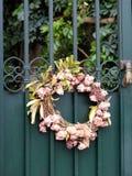 Kwiecisty wianek na Zielonej bramie, Grecja Obraz Royalty Free