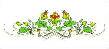 kwiecisty wzór Zdjęcie Royalty Free