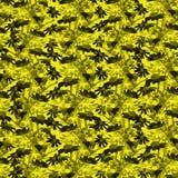 Kwiecisty wzór na czarnym tle Obraz Royalty Free