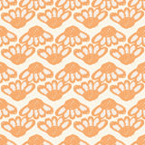 Kwiecisty wzór z wielkimi kwiatów pączkami i Echinacea Prosty bezszwowy wzór dla druku na tkaninie, tkaniny, powierzchnie Zdjęcia Stock