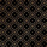 kwiecisty złoto Zdjęcie Royalty Free