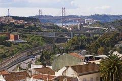 25 Kwietnia most Obraz Royalty Free