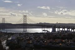 25 Kwietnia most Lisbon Zdjęcie Stock