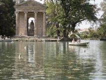 24 2018 Kwietnia willi Borghese jawny park na Pincio wzgórzu w R fotografia stock