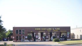 Kwik Kar Lube en stemt, Fort Worth, Texas royalty-vrije stock afbeelding