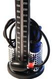 Kwik-manometer. stock afbeeldingen