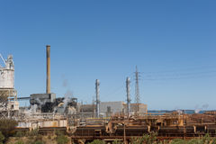 Kwinana Power Station Western Australia Stock Image