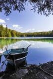 Kwinta jezioro, dolina 5 jezior, Jaspisowy park narodowy, Alberta Zdjęcia Stock