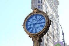 Kwinty Ave budynku zegar w NYC Fotografia Royalty Free