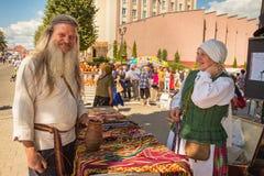 Kwinty międzynarodowego rocznego ` festiwalu Czereśniowy ` obrazy royalty free