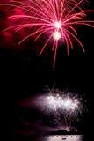 Kwitnący fajerwerk międzynarodowy fajerwerku festiv Fotografia Stock