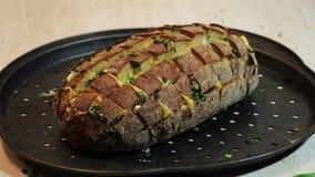Kwitnący cebulkowy chleb Zdjęcia Stock