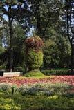 Kwitnący ogród w Gorky parku Zdjęcie Stock