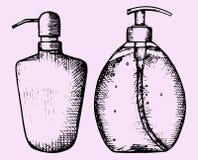 kwitnie ciekłego mydło Zdjęcie Stock