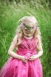 kwitnie dziewczyny smutnej zdjęcia stock