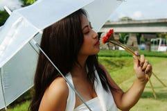 kwitnie dziewczyny target1597_0_ Fotografia Royalty Free