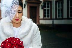 kwitnie kobiet czerwonych potomstwa obrazy royalty free