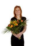 kwitnie kobiet szczęśliwych uśmiechniętych potomstwa obrazy stock