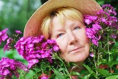 kwitnie kobiety Fotografia Stock