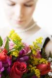 kwitnie kobiety Obraz Royalty Free