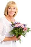 kwitnie kobiety Zdjęcie Stock