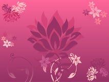 kwitnie purpury ilustracja wektor