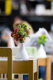 kwitnie restaurację Zdjęcie Royalty Free