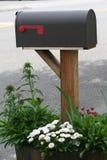 kwitnie skrzynka pocztowa wiejską Obrazy Royalty Free