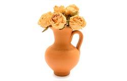 kwitnie wazę Obraz Royalty Free