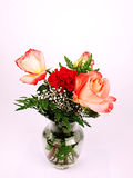 kwitnie wazę Obrazy Stock