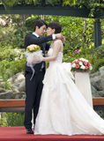 Kwon Sang Woo and Che Yong Li Stock Photos