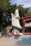 Kwun在罐子Hau寺庙的薯类寺庙 库存图片