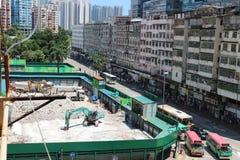 Kwun Tong. The big change in Kwun Tong,HK Stock Photos
