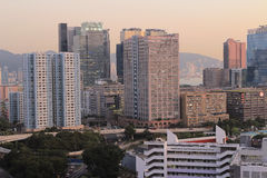 Kwun tong, kowloon bay Royalty Free Stock Photography