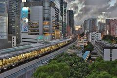 Kwun Tong stacja, Hong Kong zdjęcie royalty free