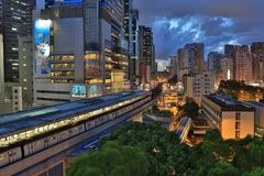 Kwun Tong Station, Hong Kong Stockfotos