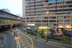Kwun tong street view Royalty Free Stock Photography