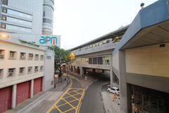 Kwun tong street view Stock Photography