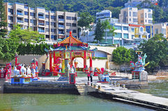 Kwun yam pavilion, hong kong Royalty Free Stock Photos