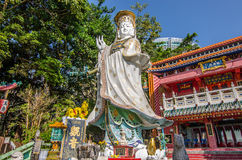 Kwun Yam Shrine in Located at the southeastern end of Repulse Bay Stock Image