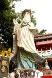 Kwun Yam Shrine in tempio di Tin Hau accanto alla baia di rifiuto fotografie stock libere da diritti