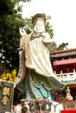 Kwun Yam Shrine in Tin Hau-tempel naast Repulse Baai Royalty-vrije Stock Foto's