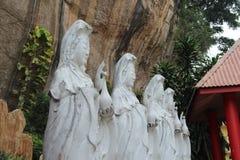 Kwun Yam Statue Royaltyfri Foto