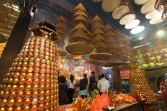 Kwun Yum Temple, Hung Hom, Hong Kong image libre de droits