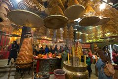 Kwun Yum Temple, Hung Hom, Hong Kong photo libre de droits