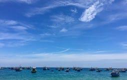 Ky Co wyspa, Quy NhÆ ¡ n, Wietnam Zdjęcia Royalty Free